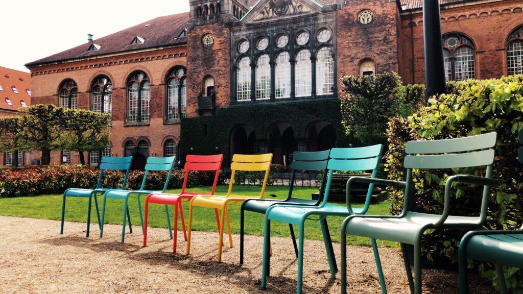 Copenhague - Det kongelige Biblioteks Have