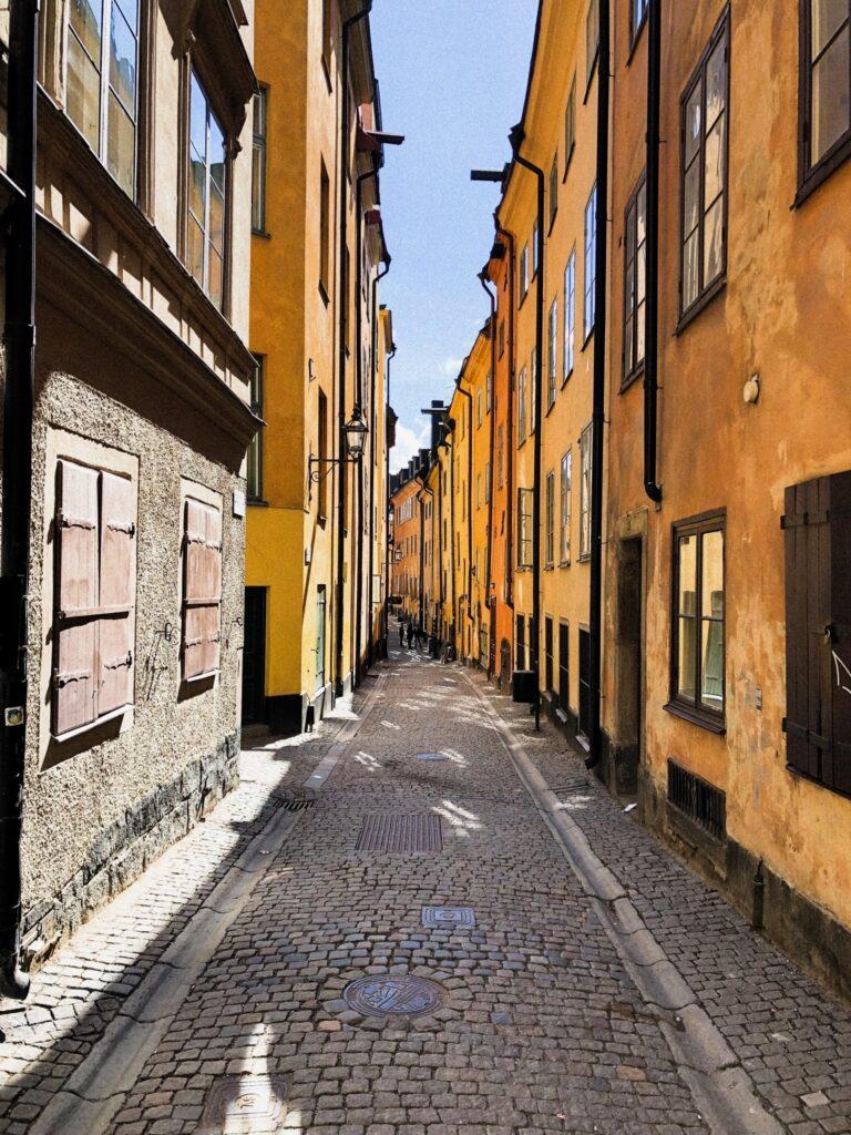 Stockholm - Gamla Stan - Rue