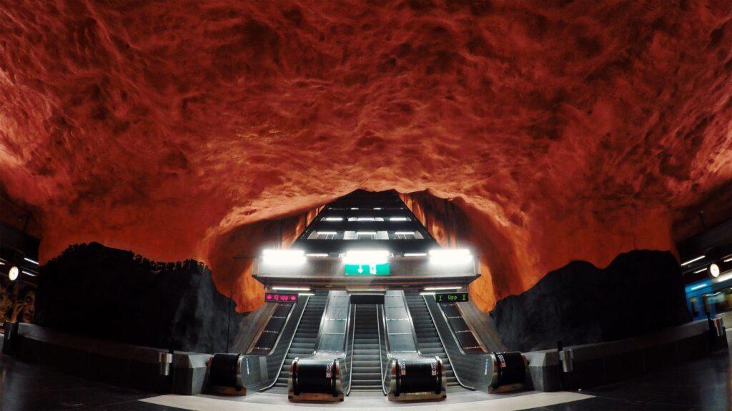 Stockholm - Metro - Solna Centrum