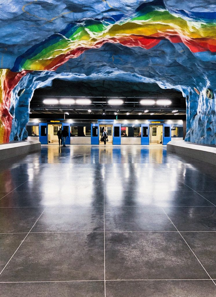 Stockholm - Metro - Stadion