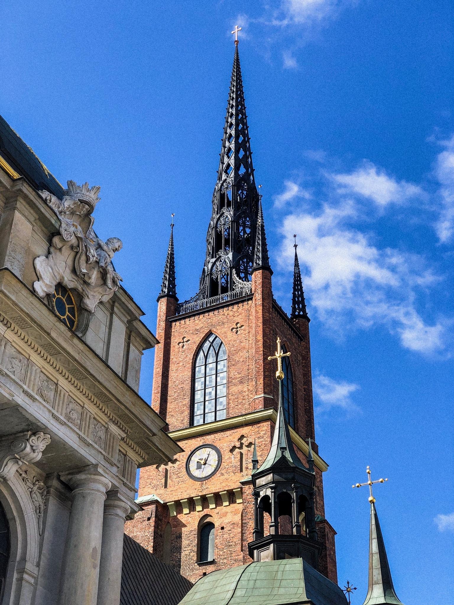 Stockholm - Riddarholmen - Riddarholmskyrkan