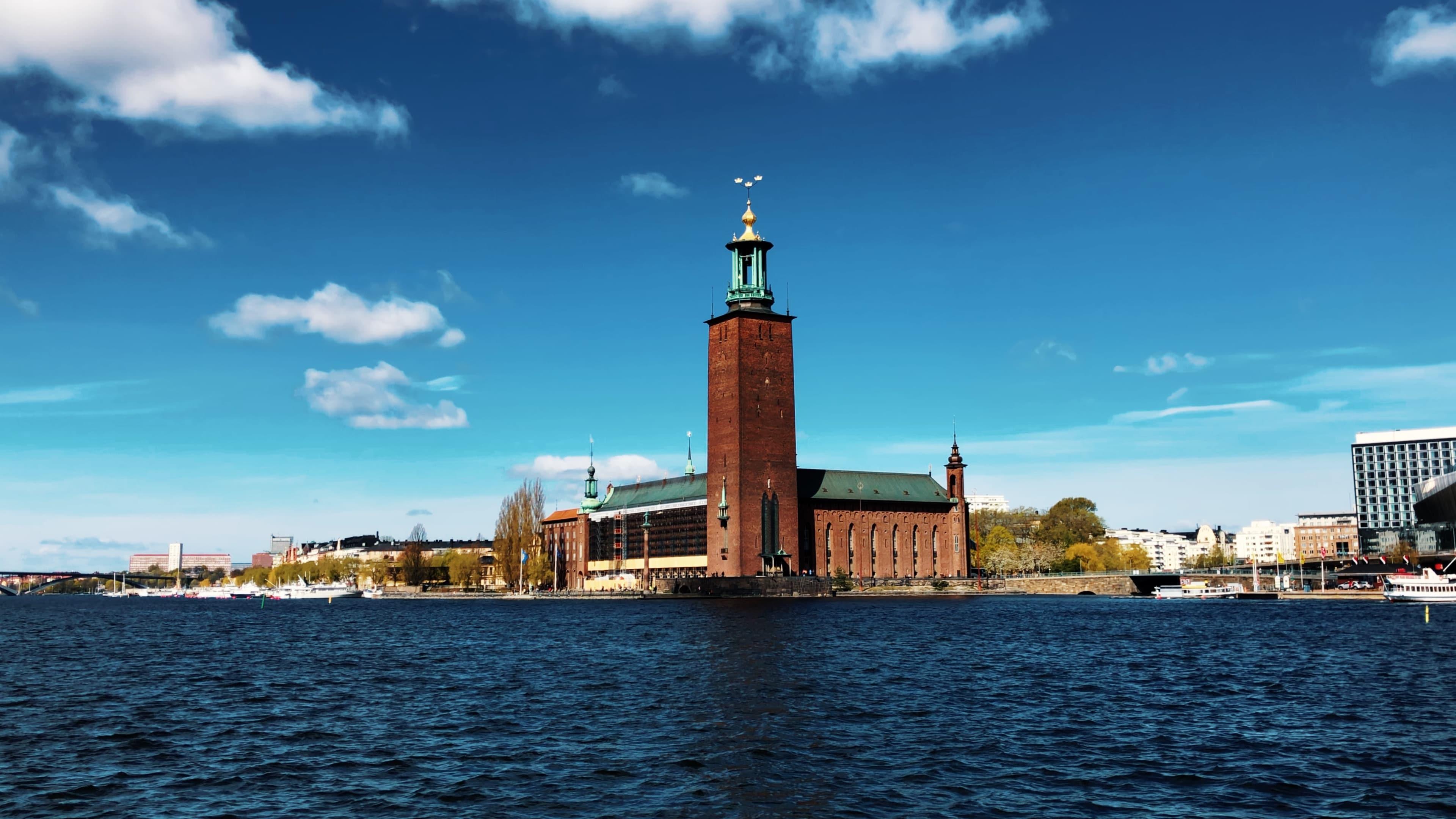 Stockholm - Riddarholmen - Stadshuset