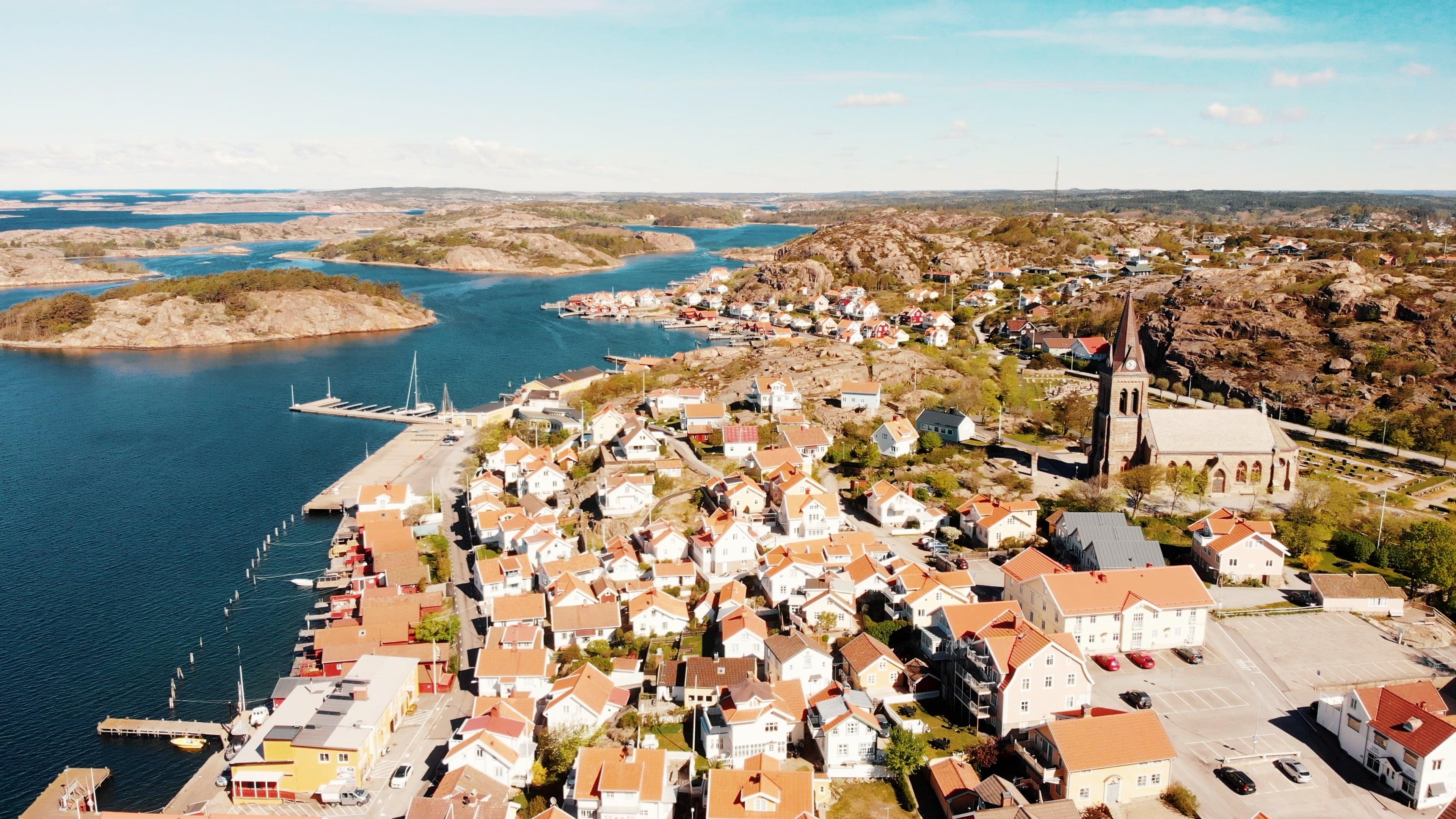 Fjällbacka - Kungsklyftan - Eglise