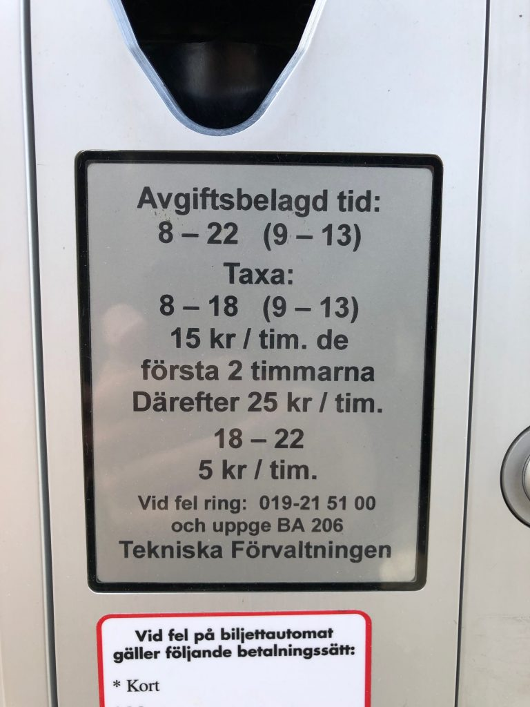 Örebro - Parking