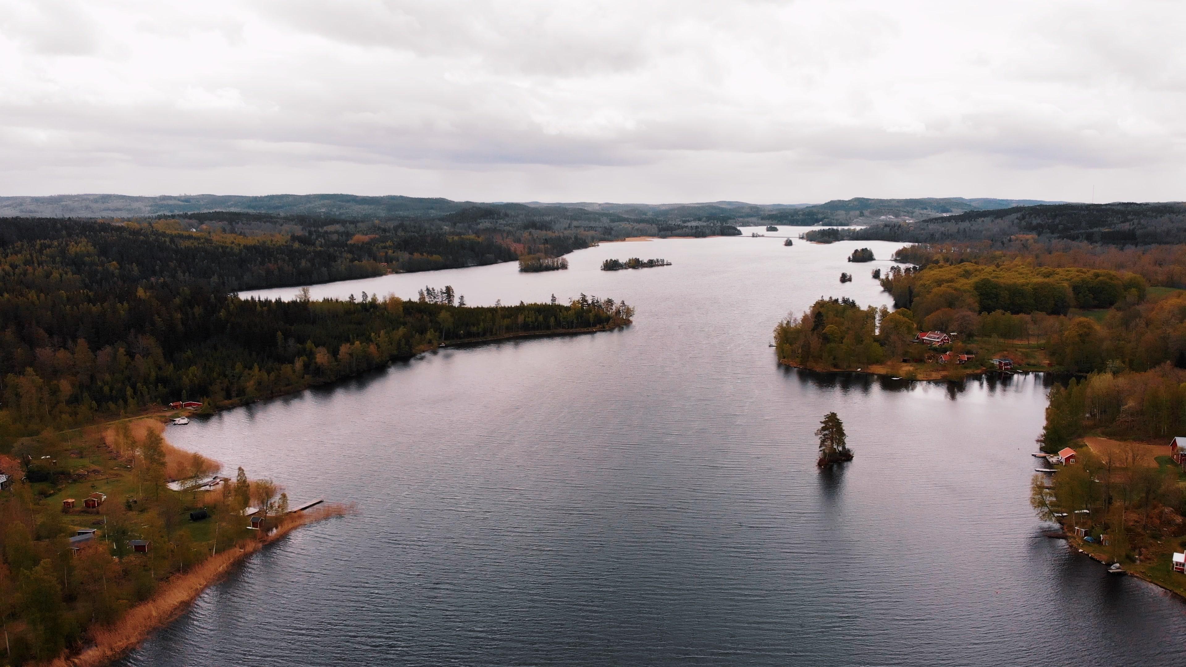 Smäland - Lac