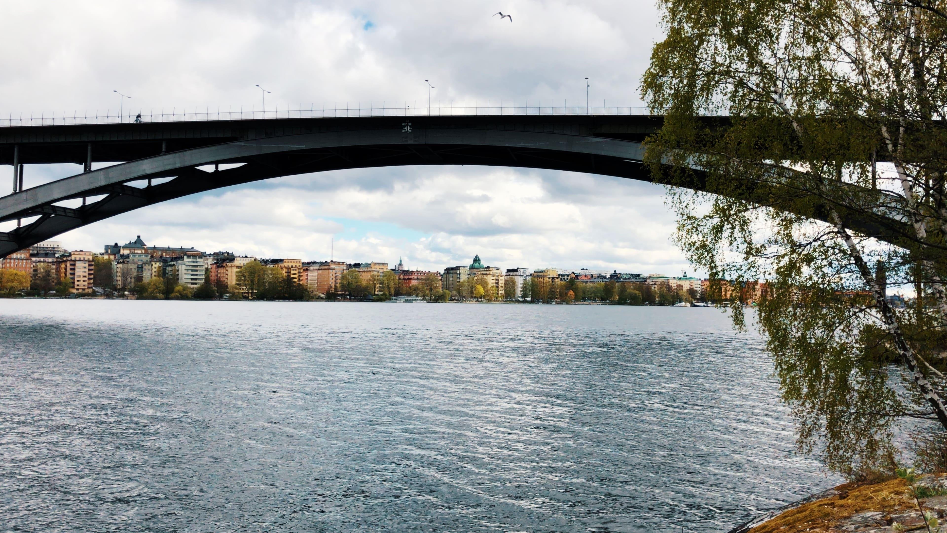 Stockholm - Längholmen - Västerbron