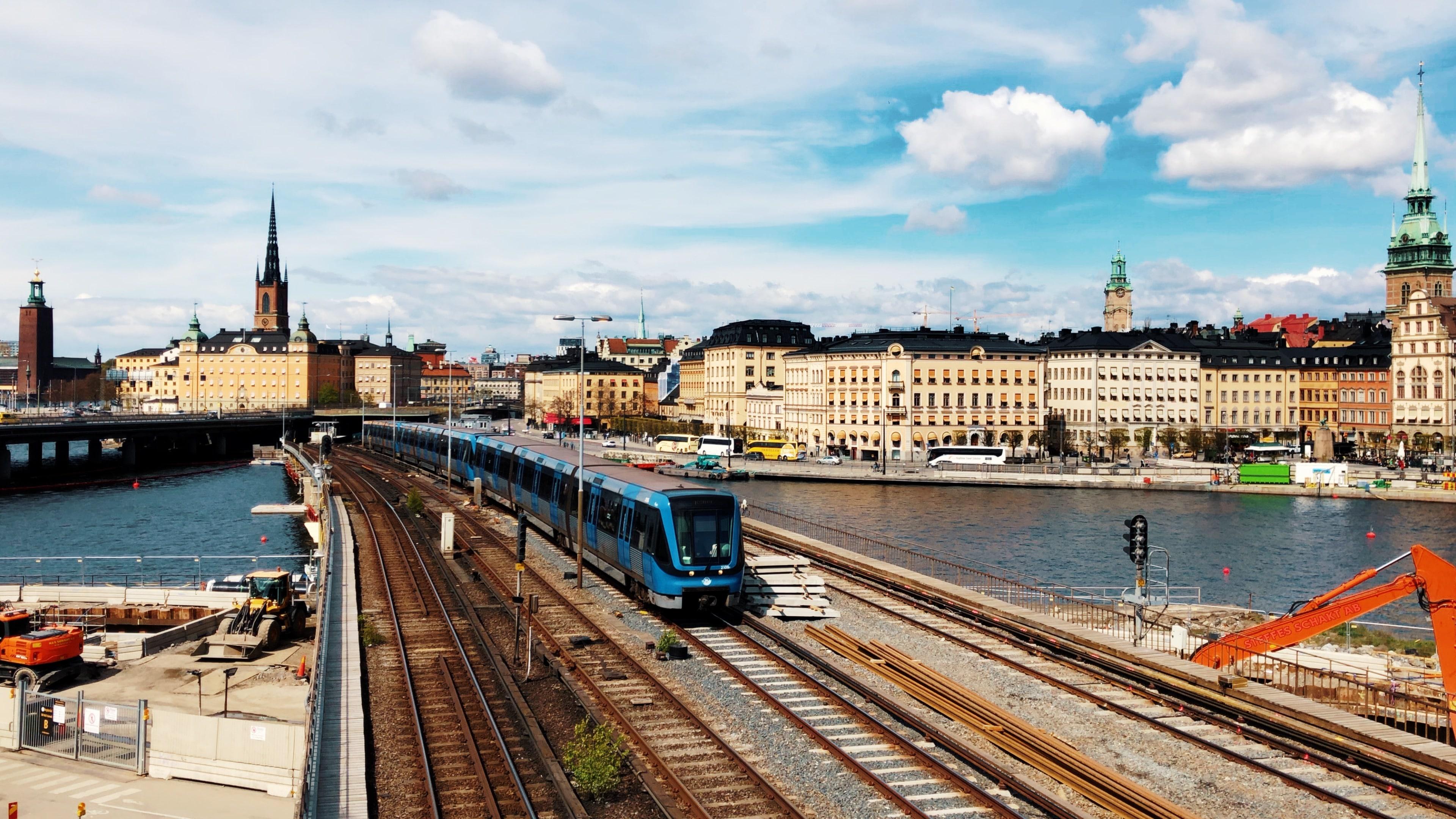 Stockholm - Södermalm - Métro