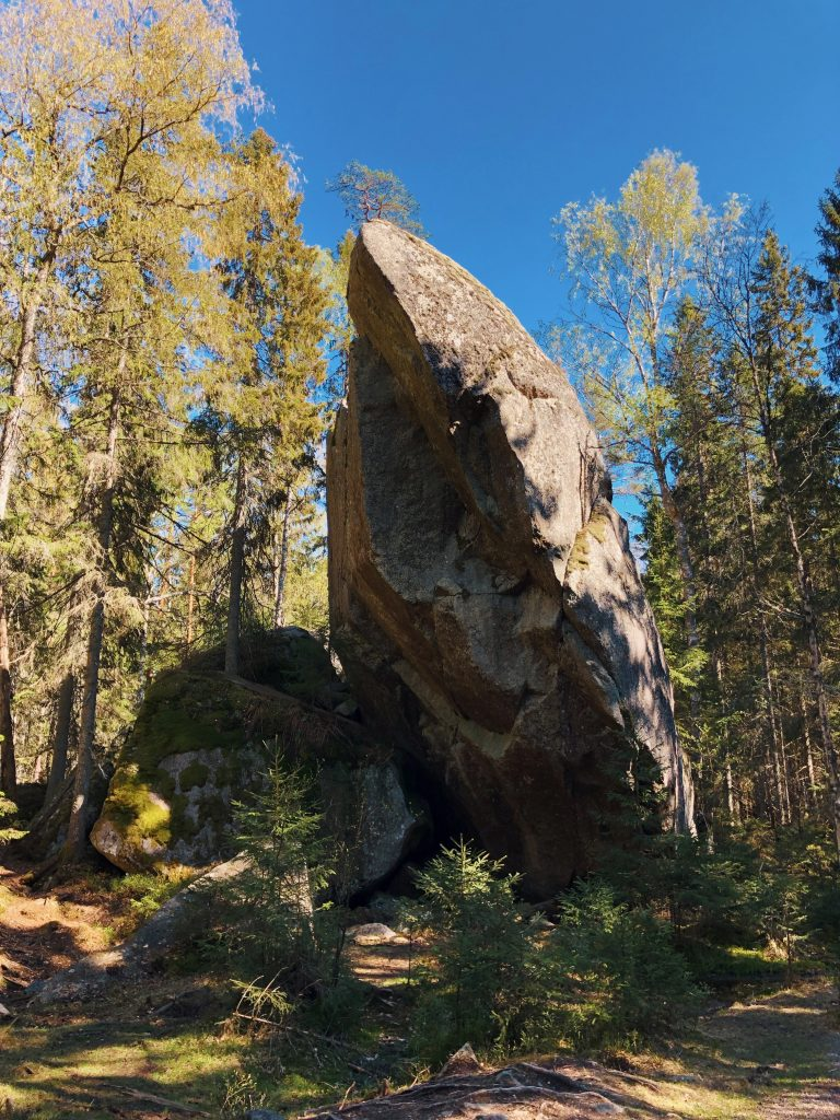 Tivedens National Park - Junker Jägare's Bould