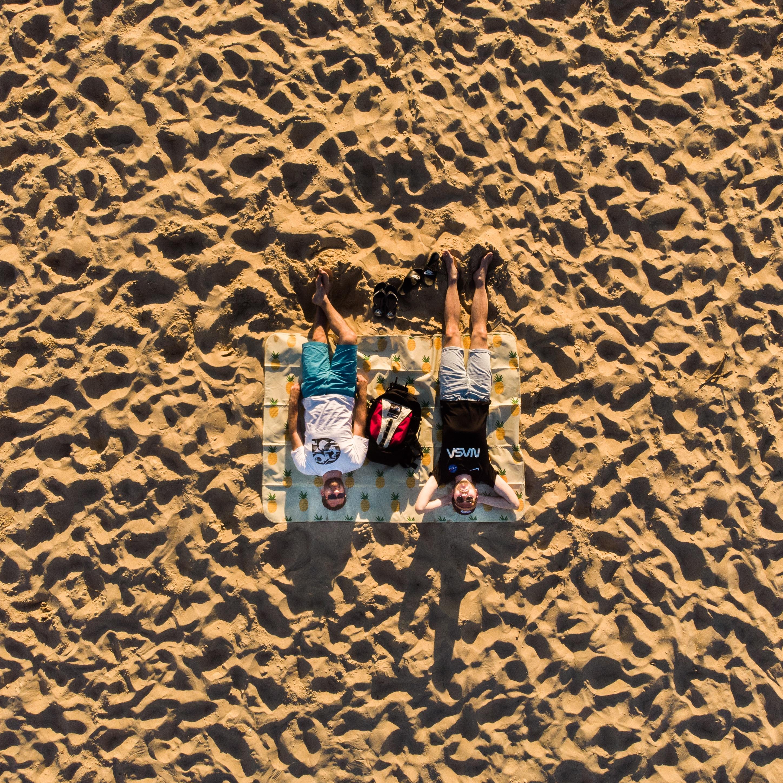 Petit pique nique sur la plage d'Hossegor