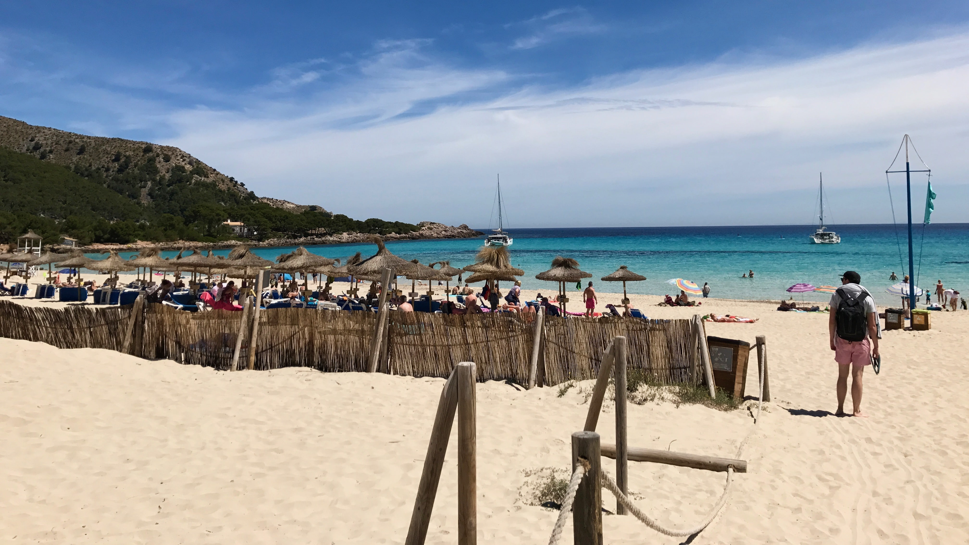 Cala Agulla, une des plages de Majorque