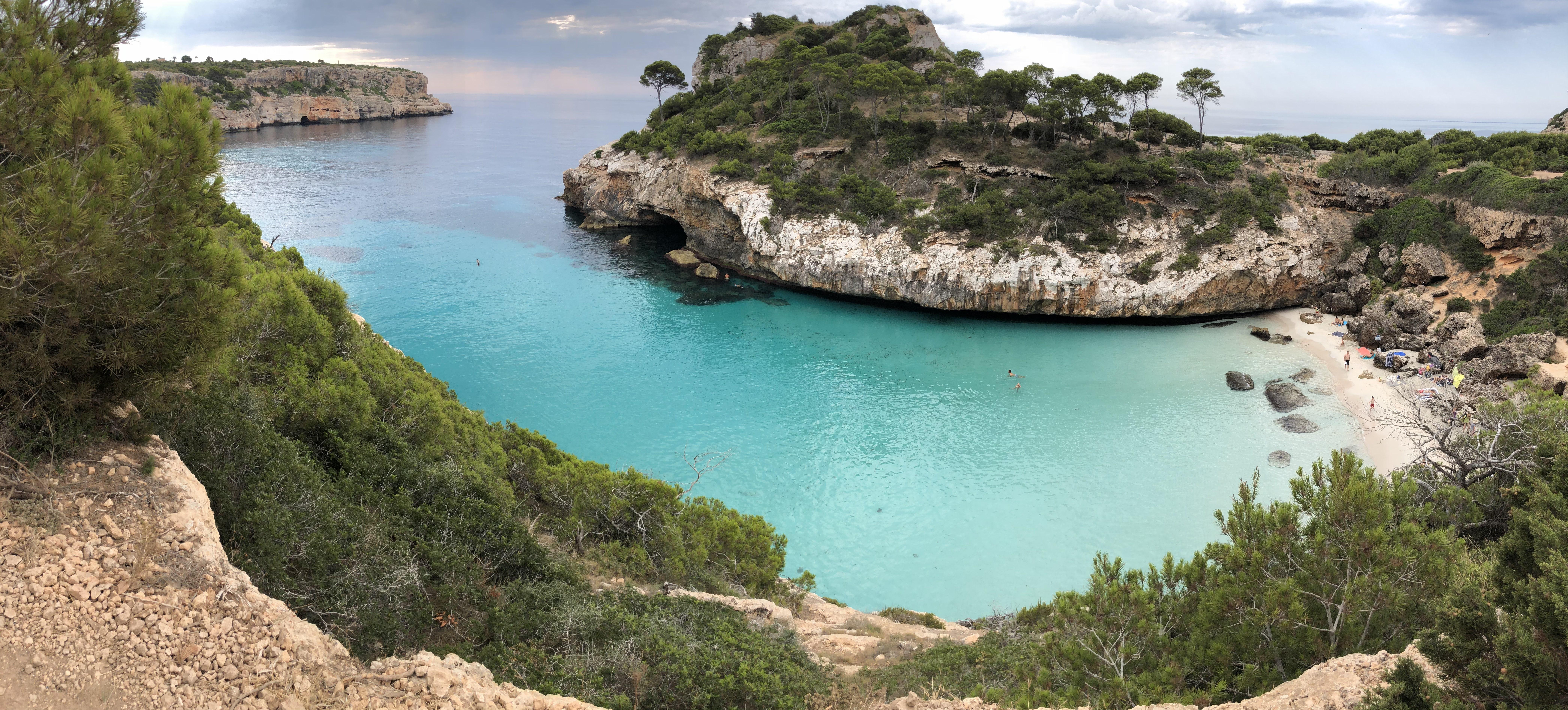 Calo del moro, l'une des plues belles plages de Majorque