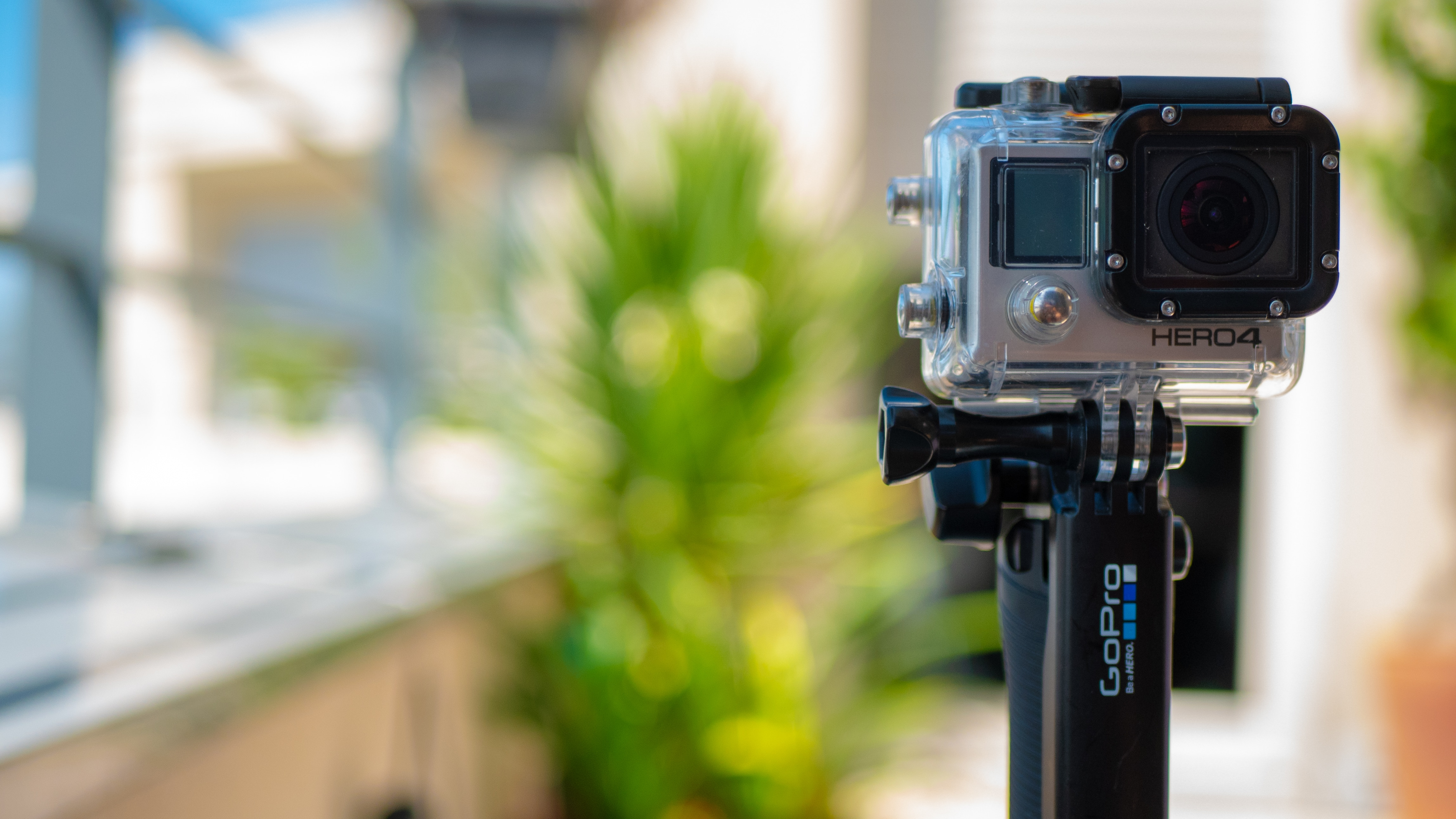 GoPro installée sur le 3-Way