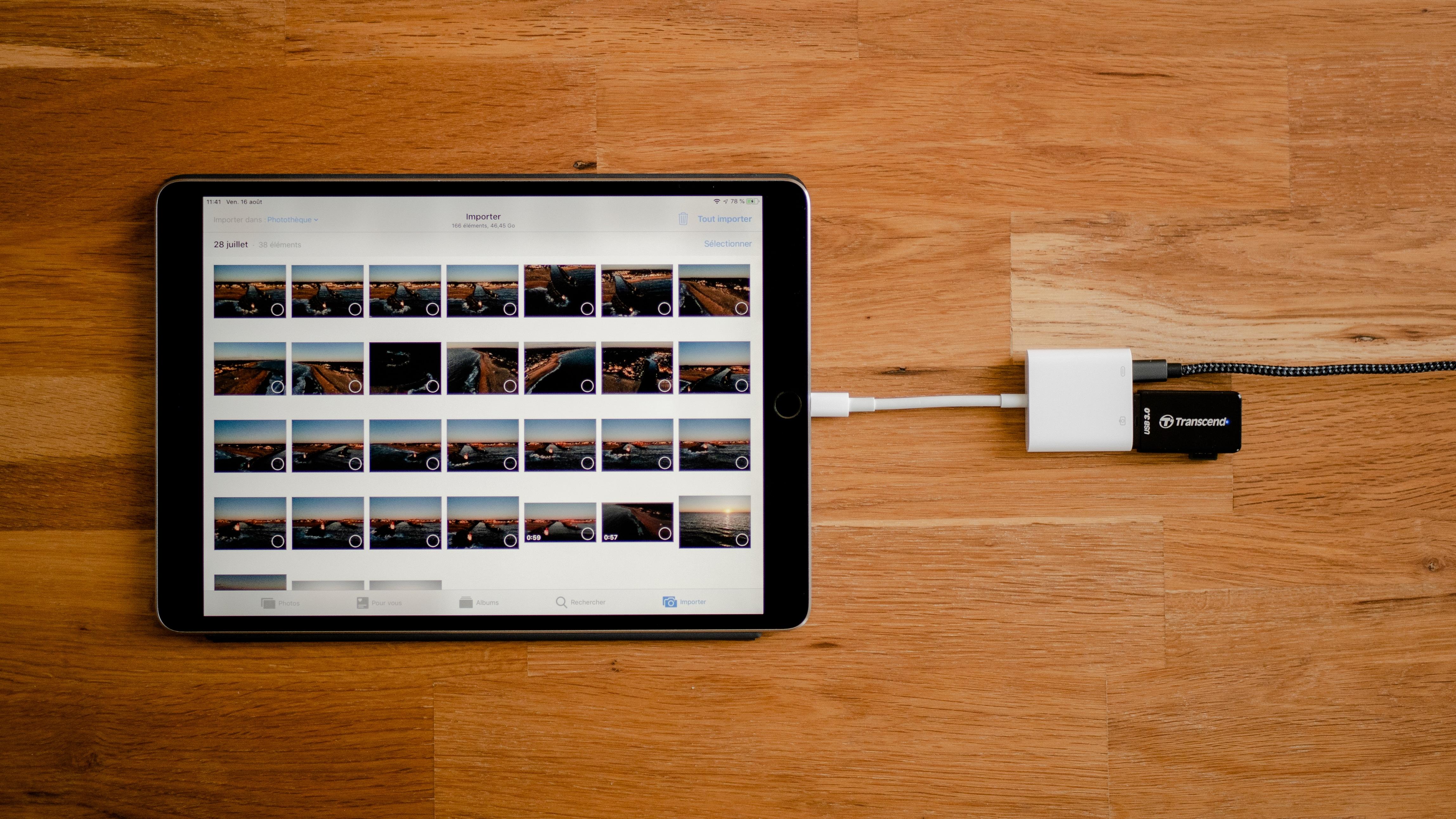 Equipements - iPad