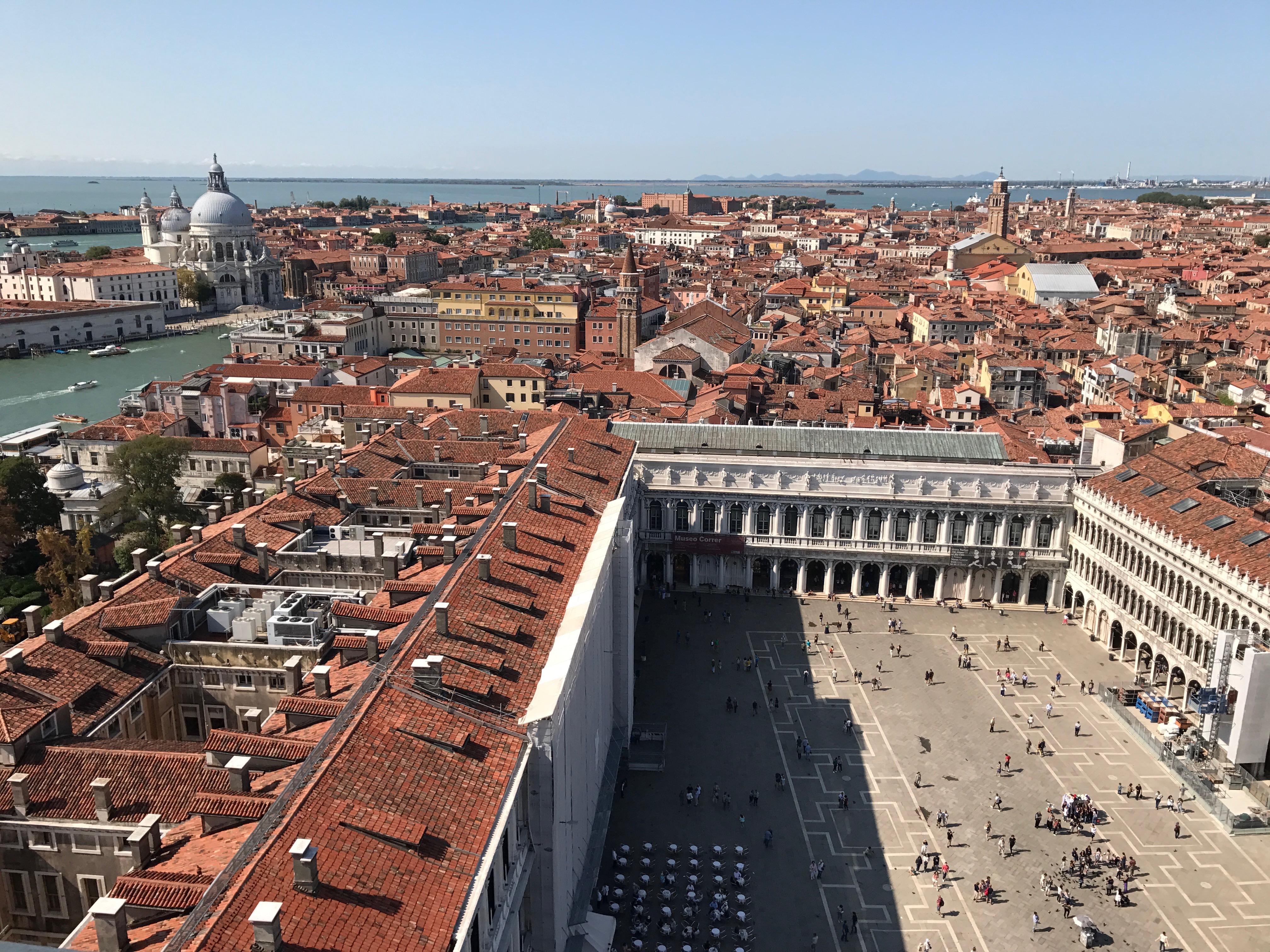 Venise - Vue depuis le Campanile