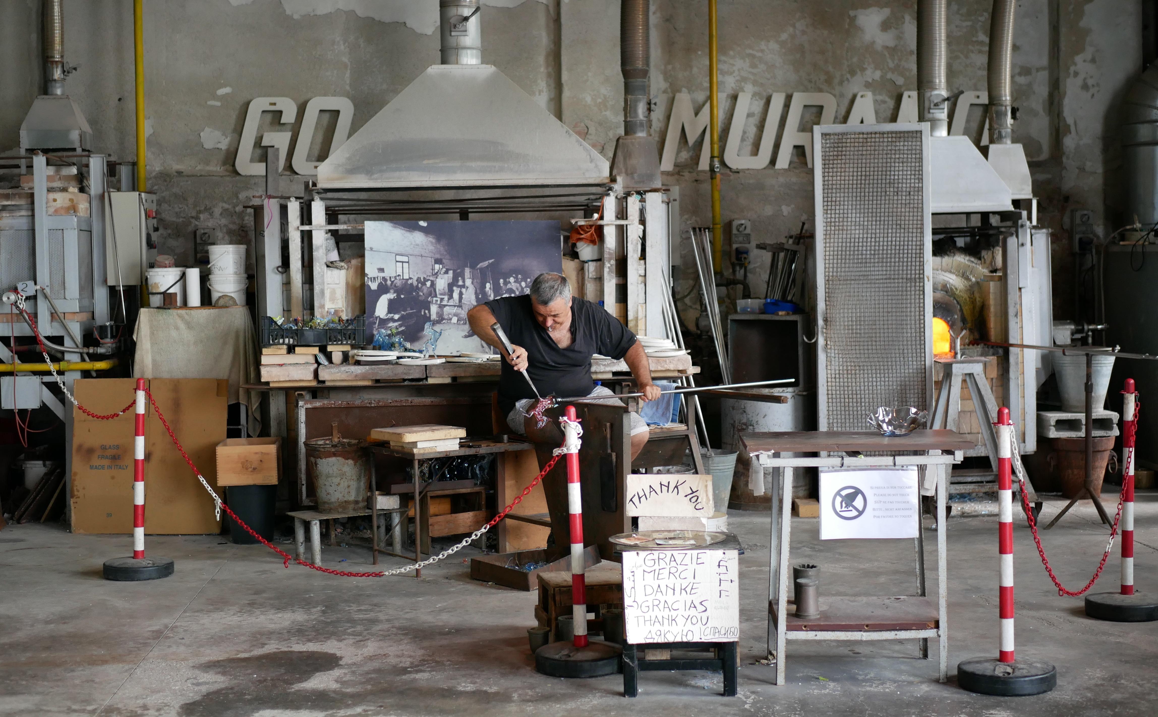 Atelier Vetreria Artistica Emmedue à Murano