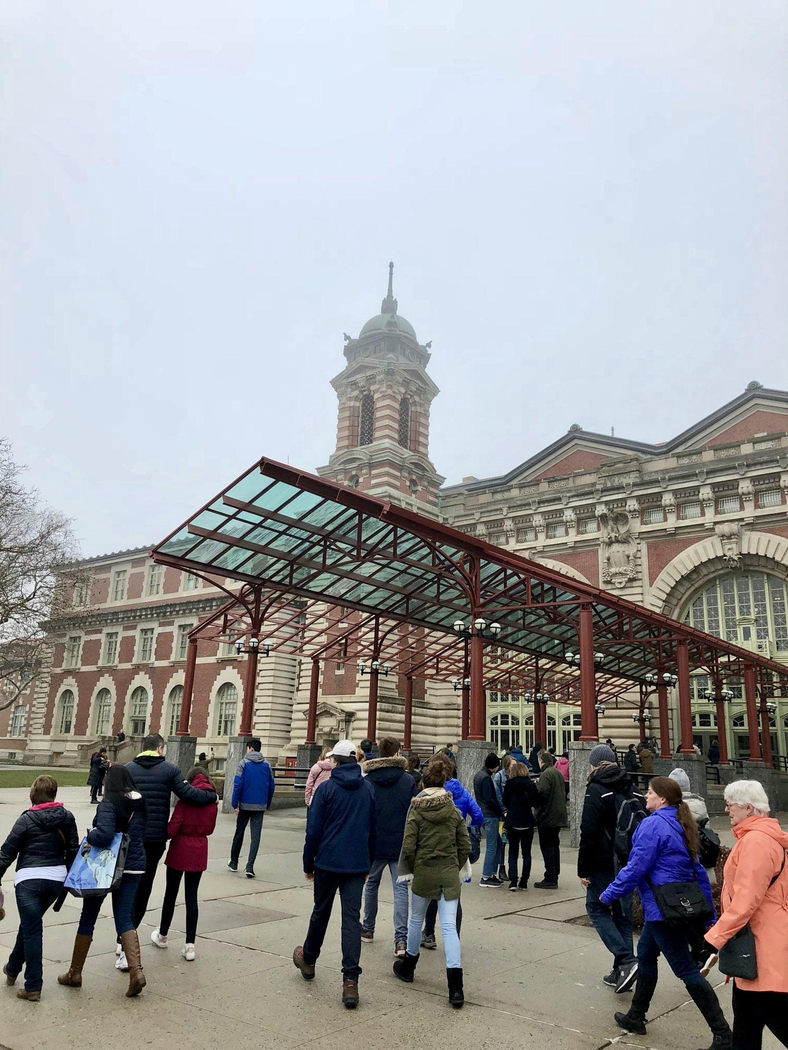 New York - Jour 2 - Visite de la Statue de la Liberté et de Ellis Island 5