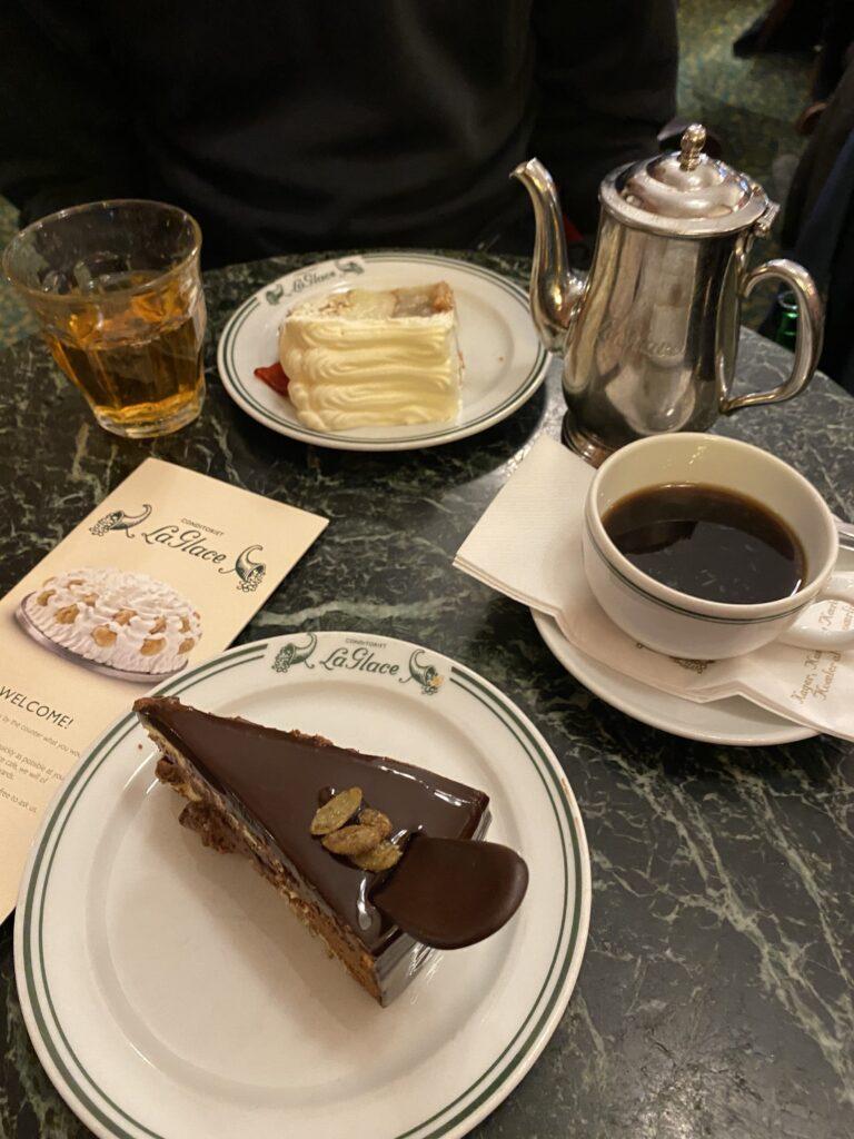 De bon gâteaux à La Glace à Copenhague