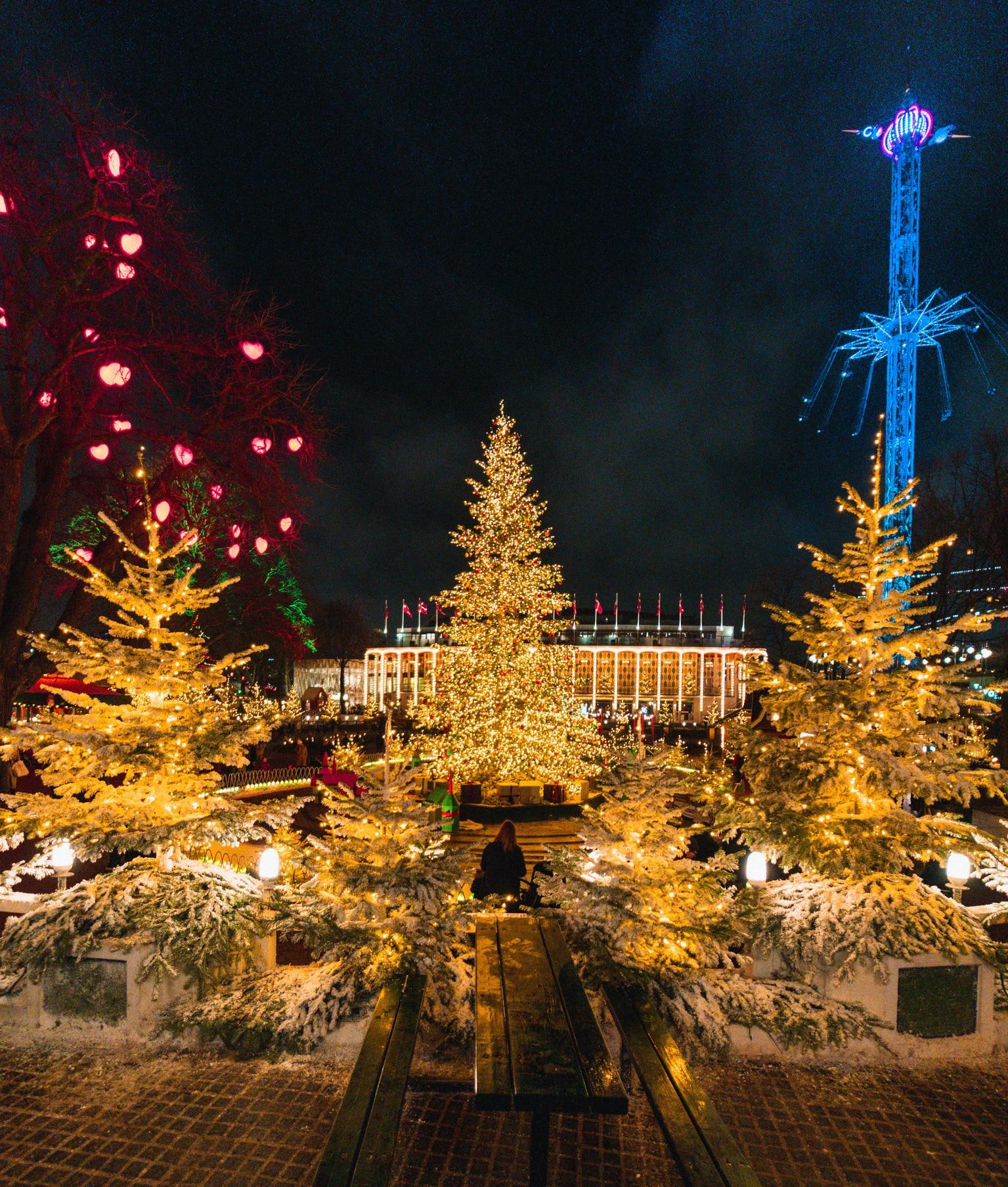 Jardins de Tivoli à Copenhague