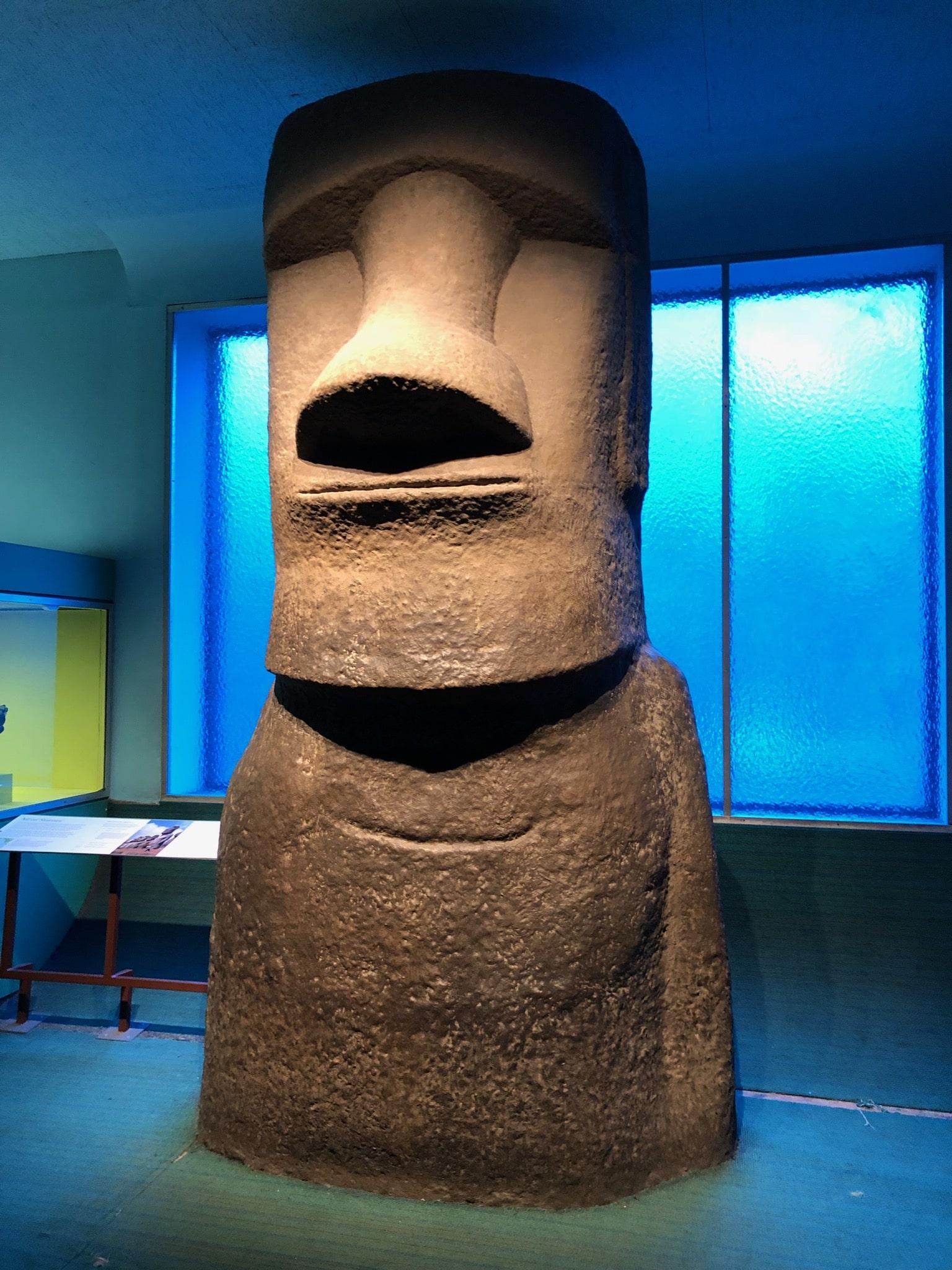 Statue de l'île de Paques - American Museum of Natural History