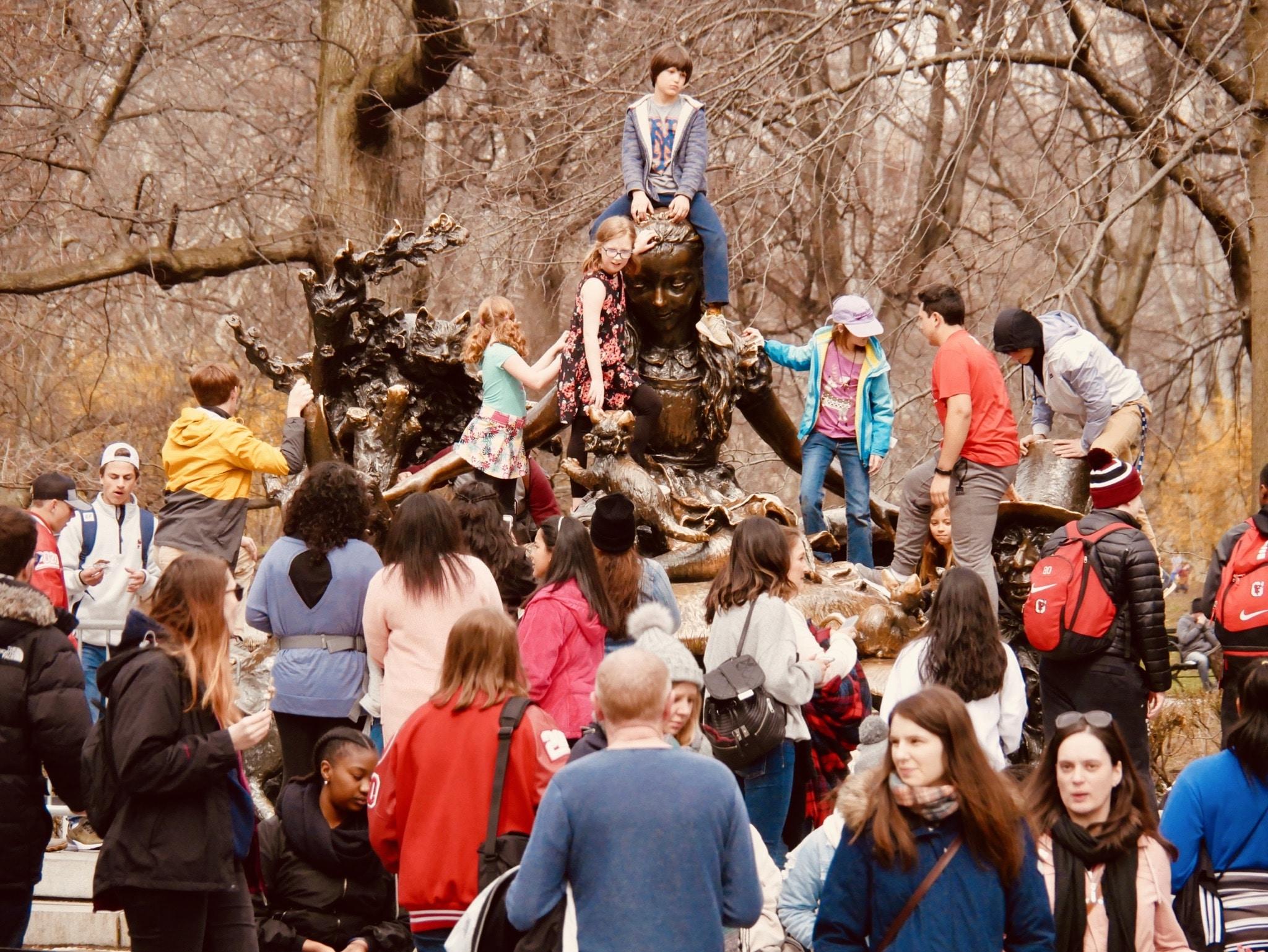 Central Park - Alice au pays des Merveilles