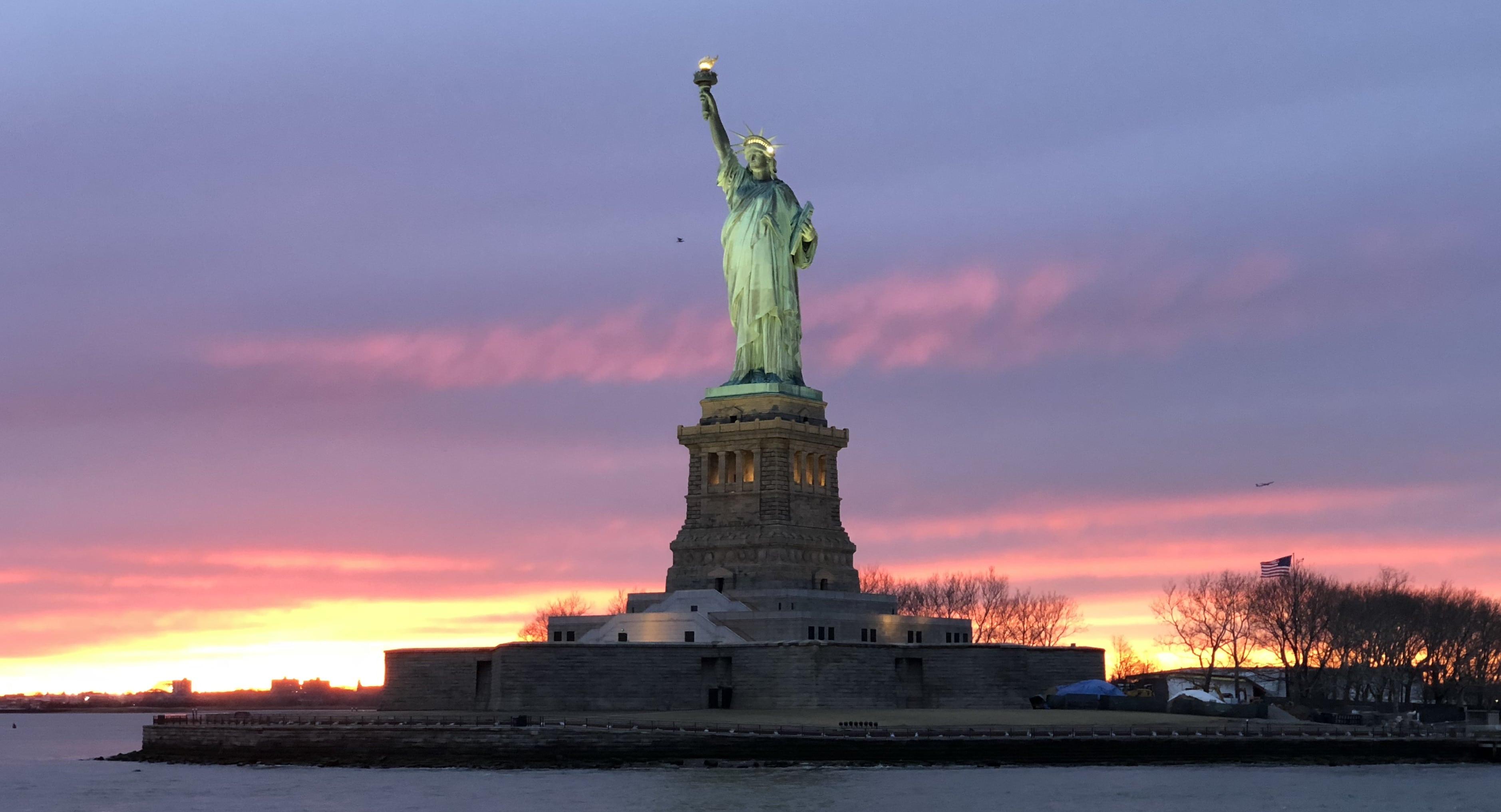 New York - Croisiere - Statue