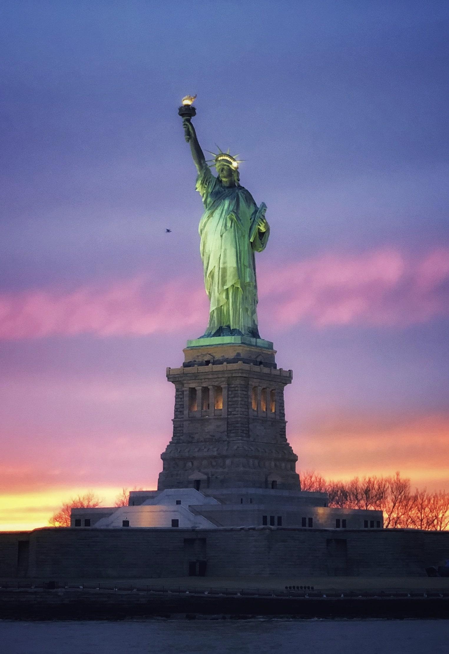 New York - Croisière - Statue de la Liberté