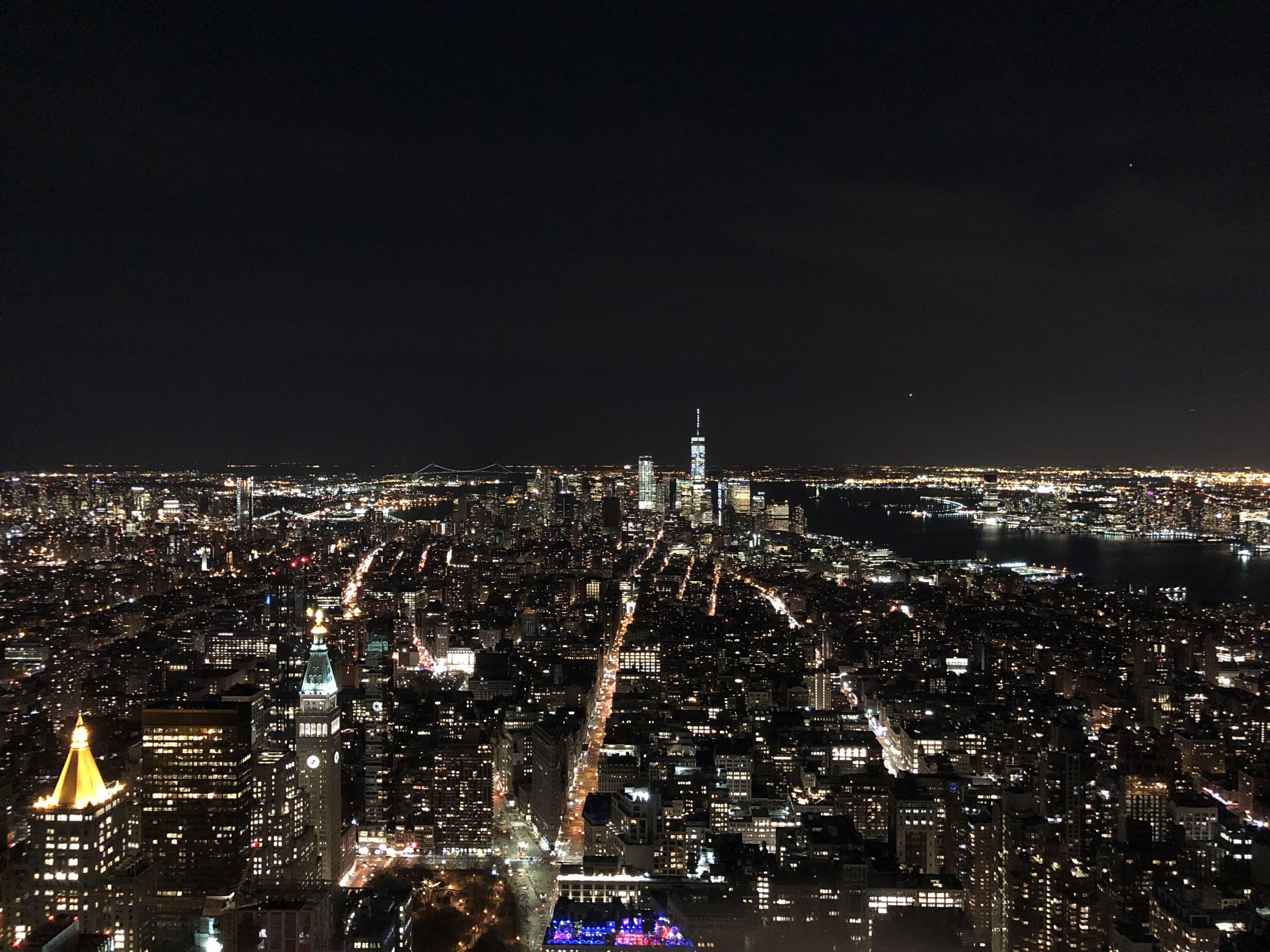 Empire State Building de nuit