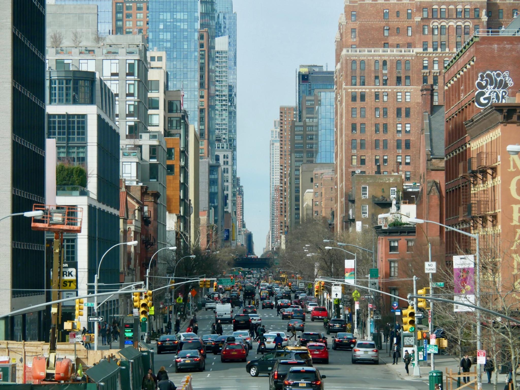 New York - High Line - 10th Avenue