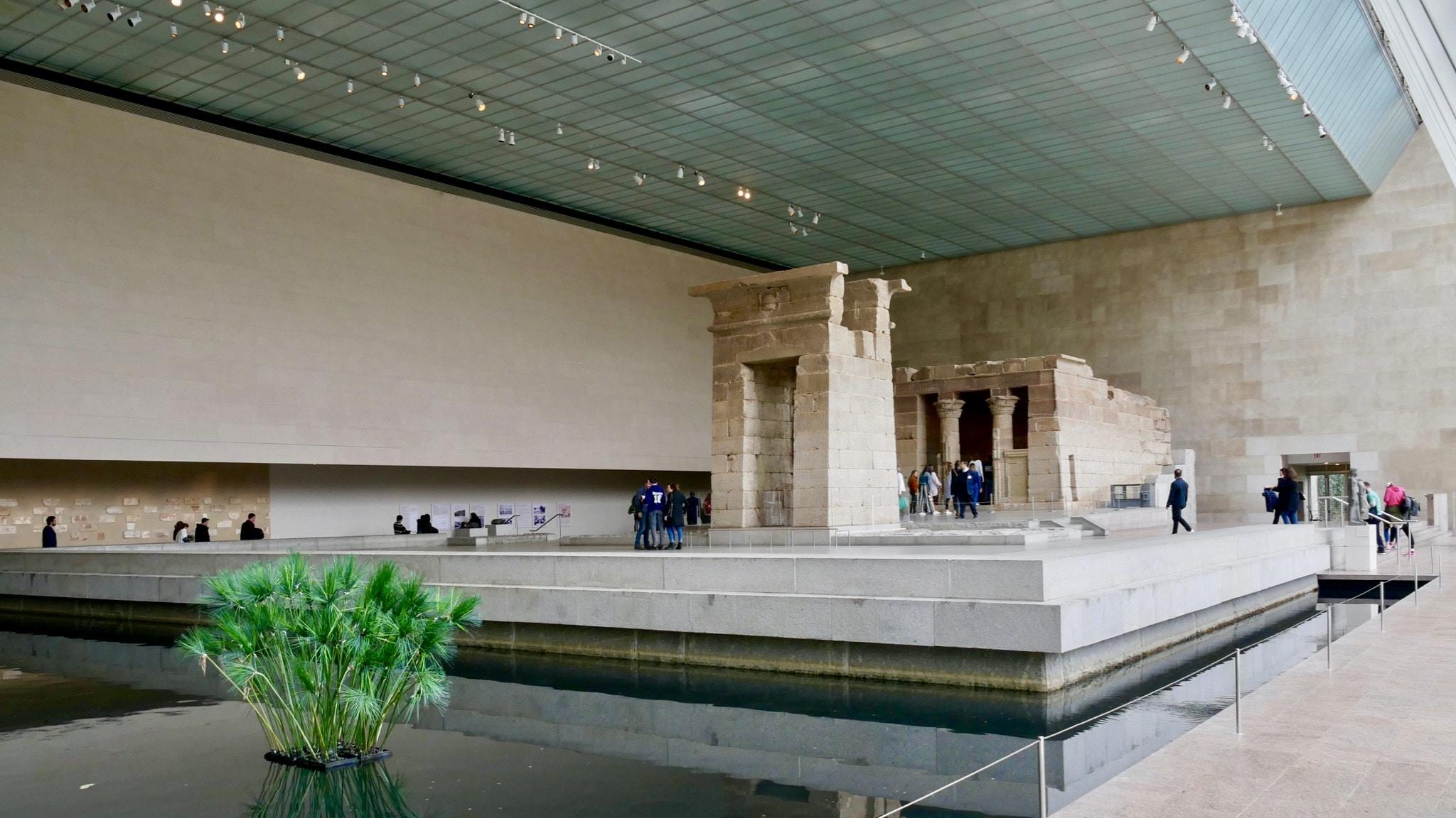 MET - Temple Egyptien