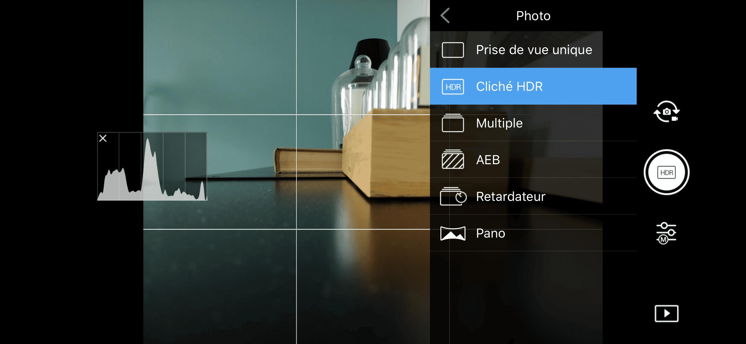 DJI Mavic Air - Mode HDR