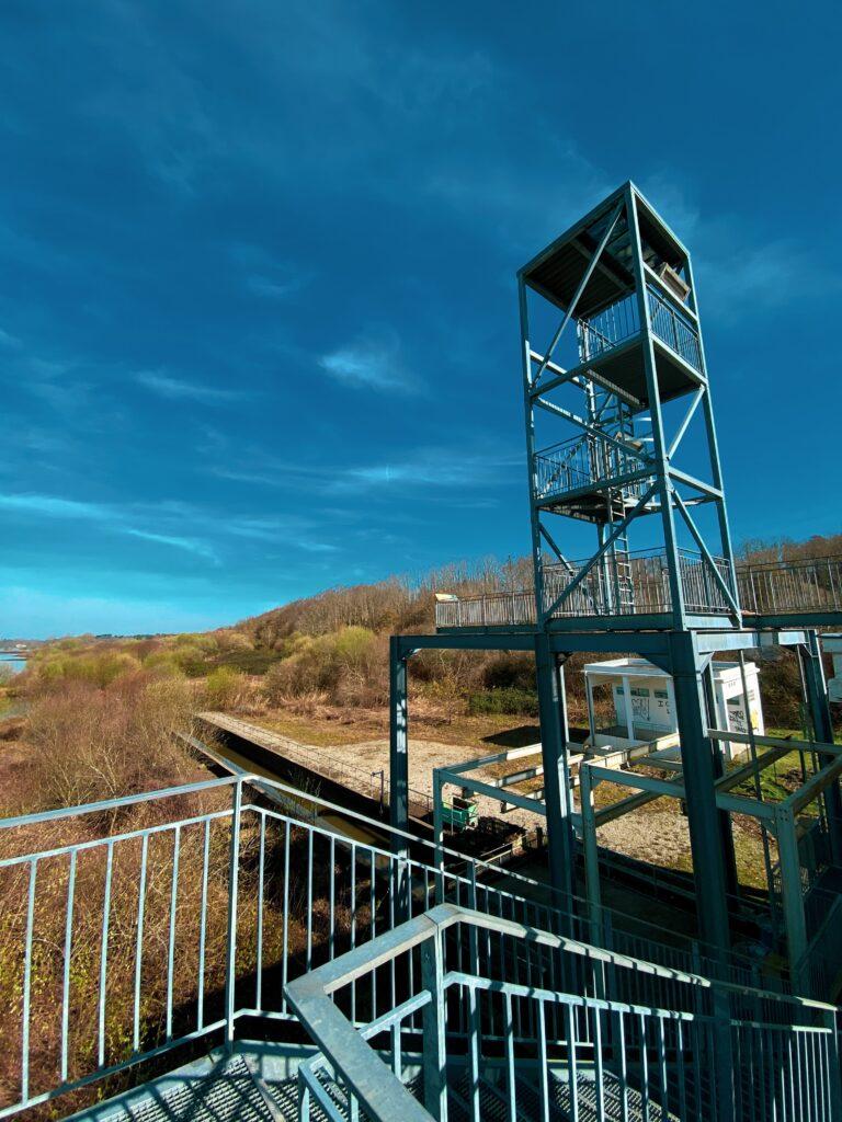 Réserve Naturelle du Marais d'Orx - Observatoire des pompes
