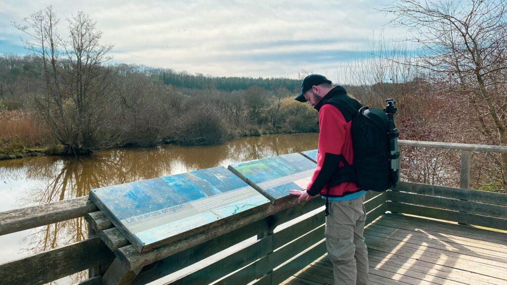 Balade dans la réserve naturelle du Marais d'Orx 1