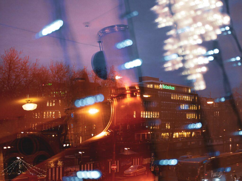 Amsterdam en hiver - Heineken Experience