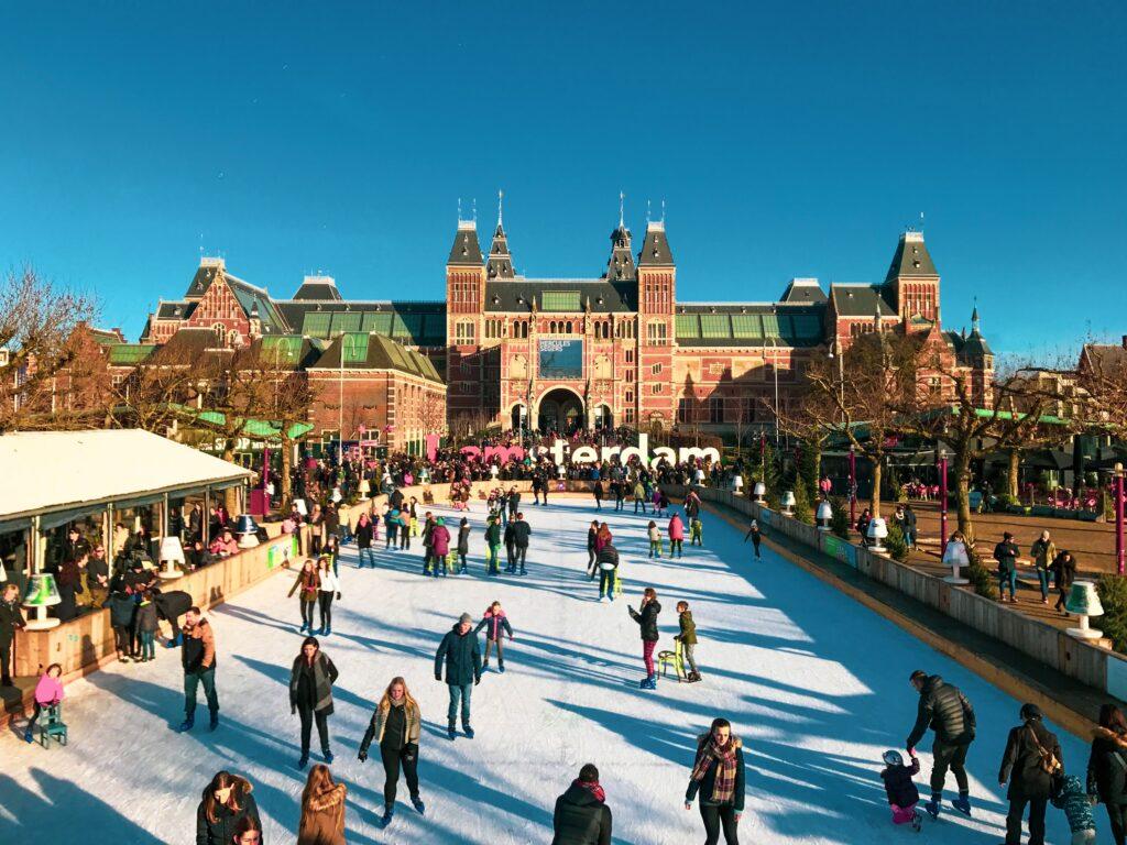 Amsterdam en hiver - Ice Amstardam