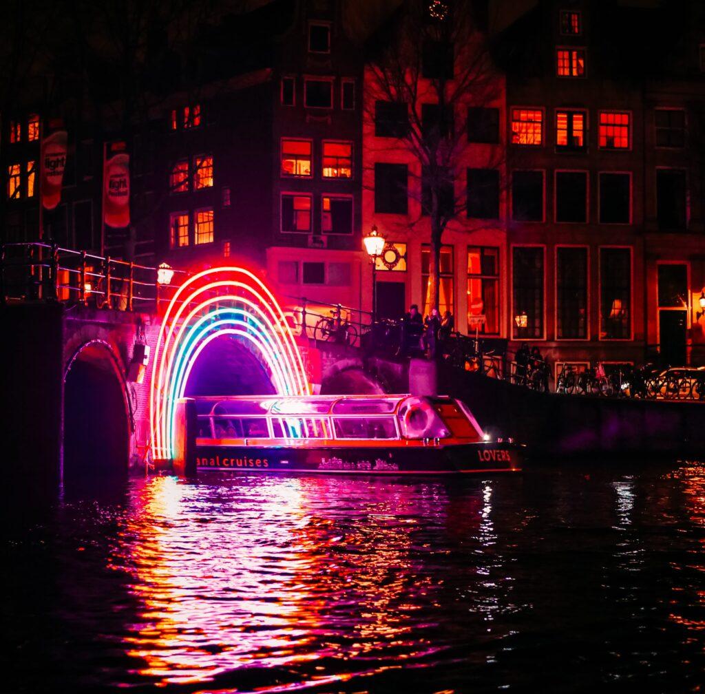 Amsterdam en hiver - Amsterdam Light Festival