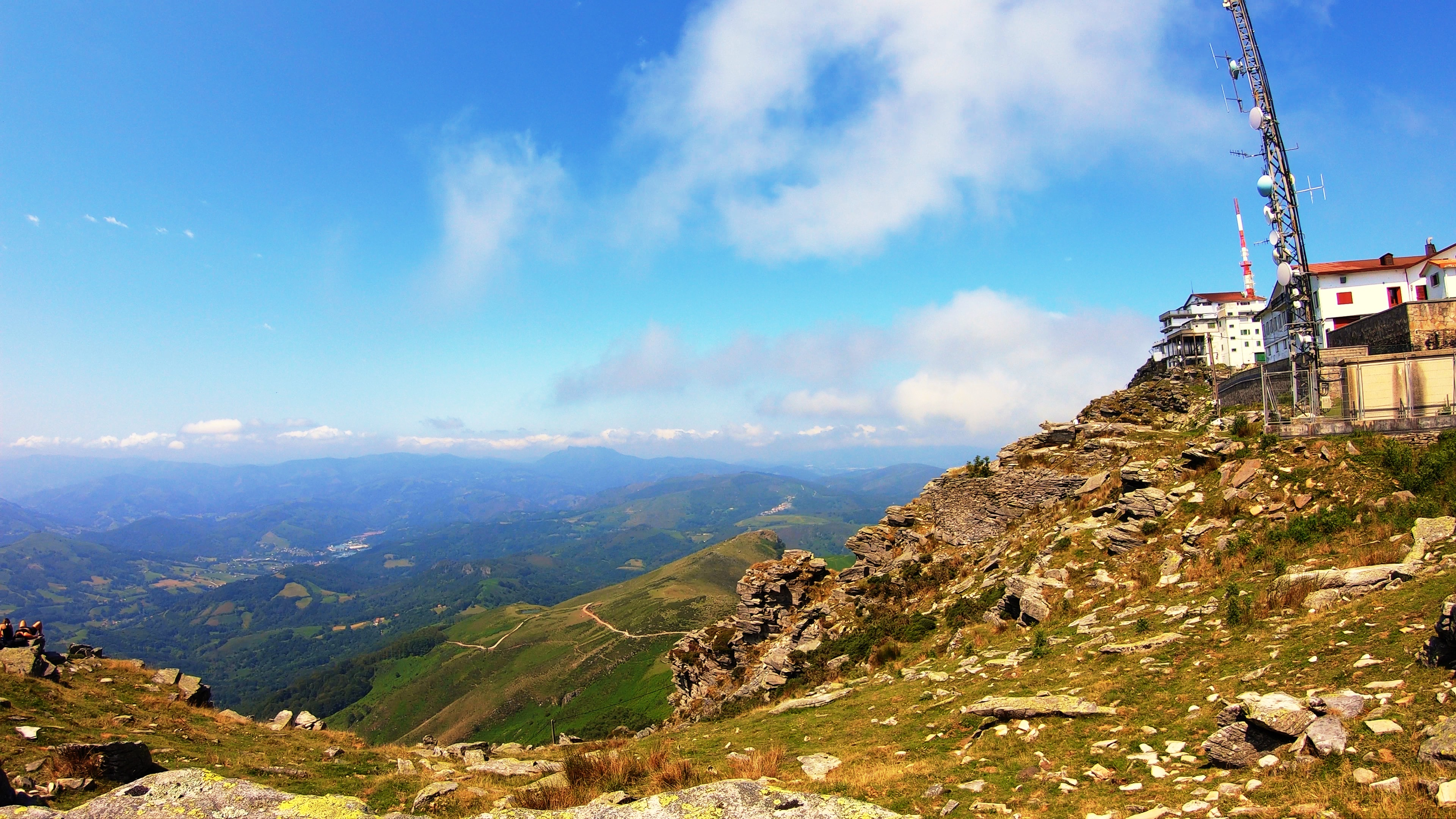 La Rhune - Pique nique au sommet