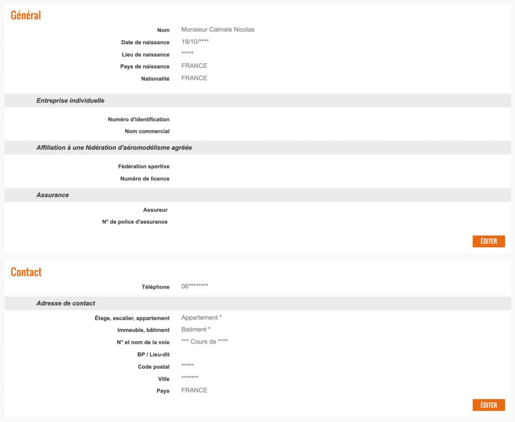 Comment réaliser l'enregistrement de l'exploitant de drone sur AlphaTango 1