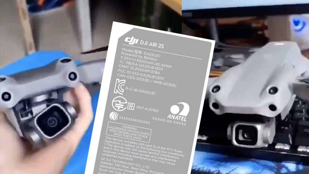 DJI Air 2S - Le successeur du Mavic Air 2 se dévoile ! 1