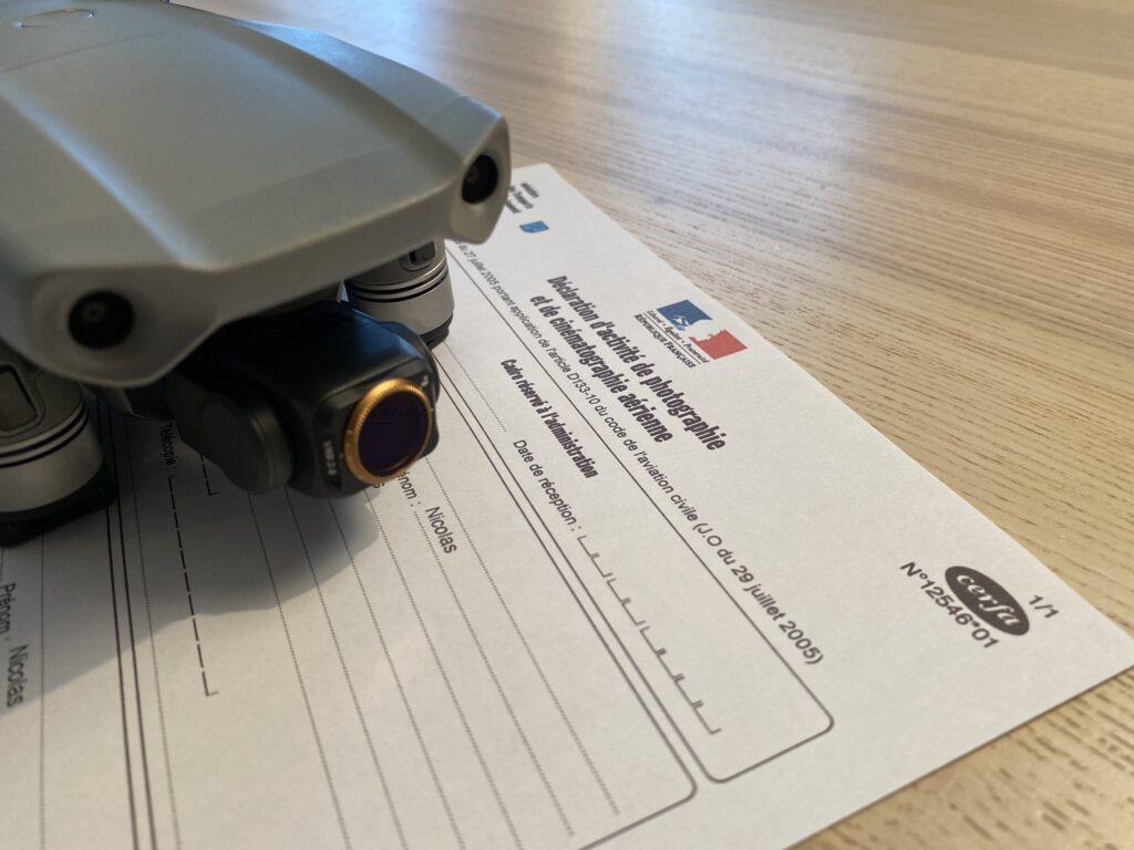 Déclarer et commercialiser ses prises de vues de drone en tant que pilote de loisir 1