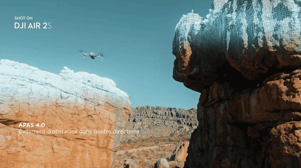 DJI Air 2S - Evitement d'obstacles APAS 4.0