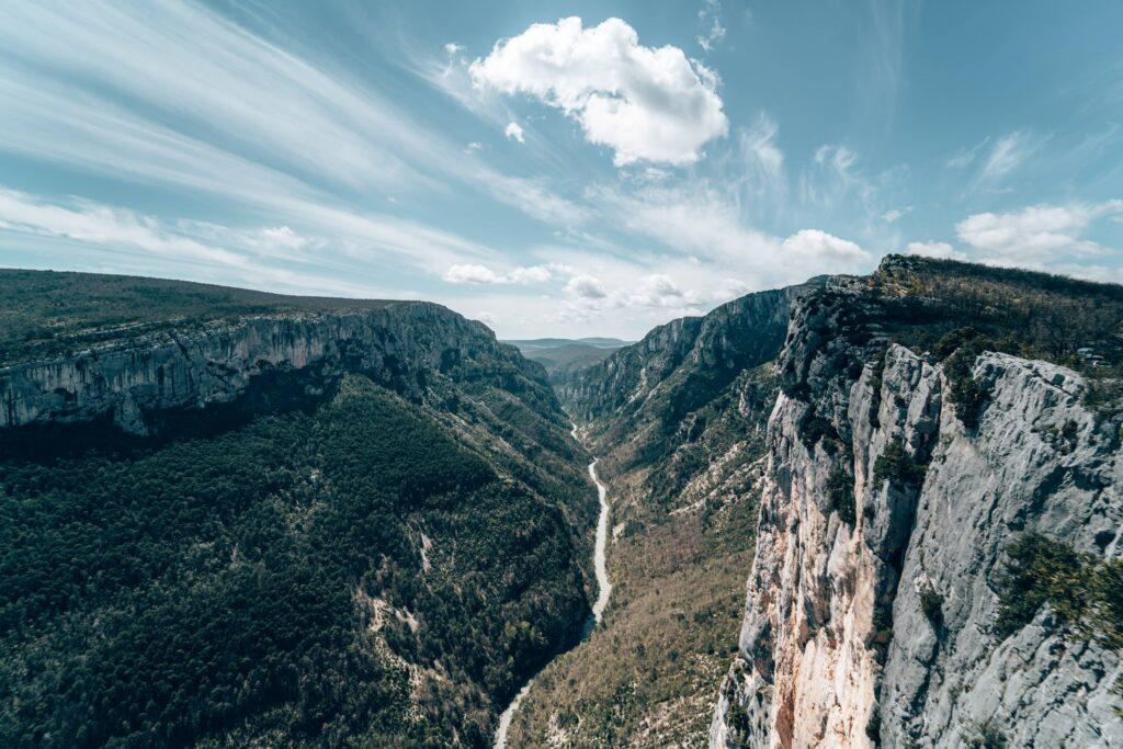 Gorges du Verdon - Belvédère de la La route des crêtes