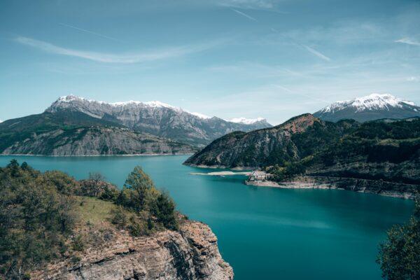 Belvédère du barrage de Serre-Ponçon