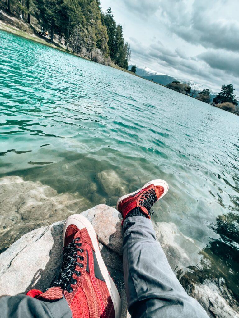 Petite pause au Lac de Saint-Apollinaire