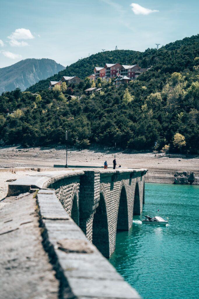 Serre-Poncon - Pont de Chanteloube ou Viaduc des Moulettes