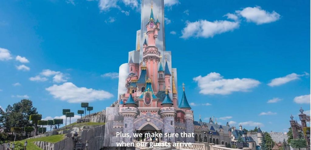 Disneyland Paris - Renovation chateau