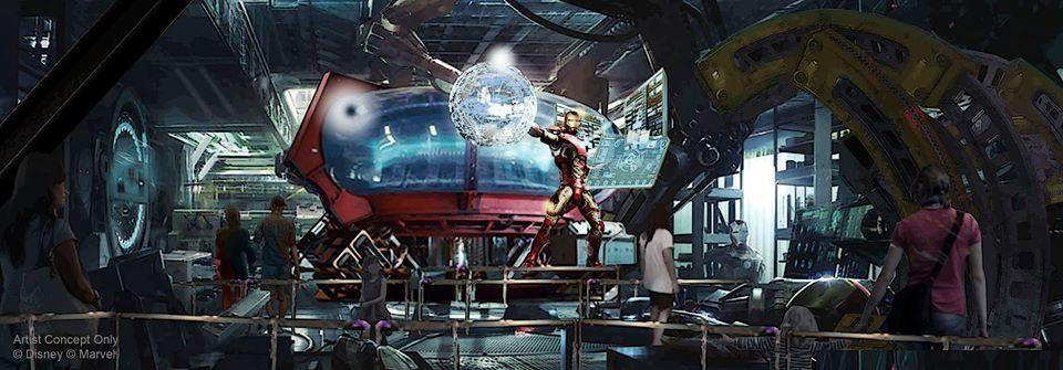 Walt Disney Studio - Rock n Roller - Iron Man